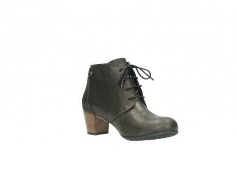 wolky ankle boots 03751 ball 10300 mottled metallic brown leather_16