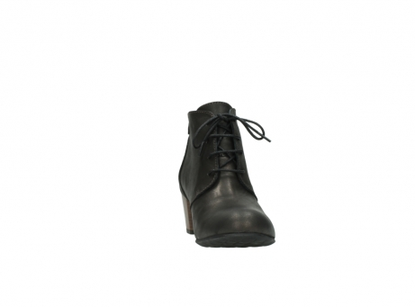 wolky ankle boots 03751 ball 10300 mottled metallic brown leather_18