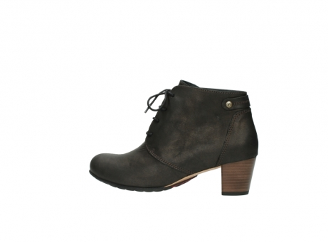 wolky ankle boots 03751 ball 10300 mottled metallic brown leather_2