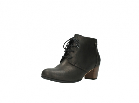 wolky ankle boots 03751 ball 10300 mottled metallic brown leather_22