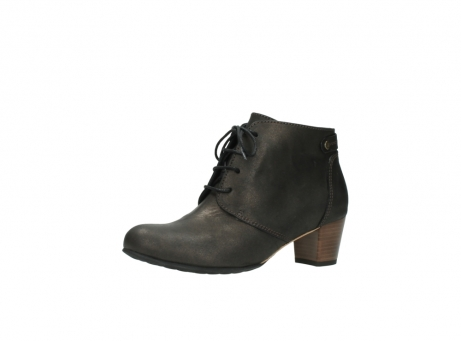 wolky ankle boots 03751 ball 10300 mottled metallic brown leather_23