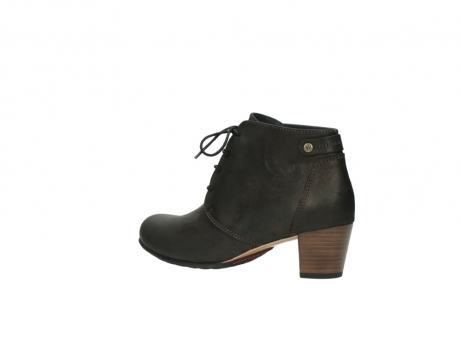 wolky ankle boots 03751 ball 10300 mottled metallic brown leather_3