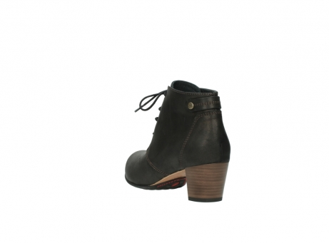 wolky ankle boots 03751 ball 10300 mottled metallic brown leather_5