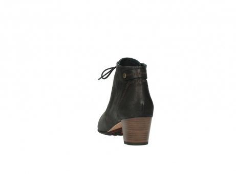 wolky ankle boots 03751 ball 10300 mottled metallic brown leather_6