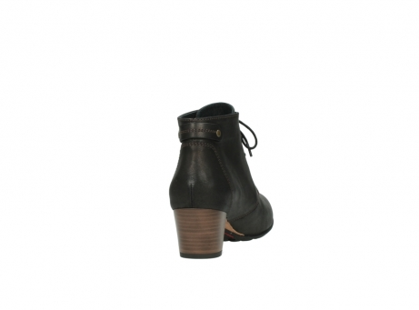 wolky ankle boots 03751 ball 10300 mottled metallic brown leather_8