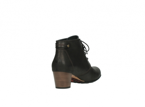 wolky ankle boots 03751 ball 10300 mottled metallic brown leather_9