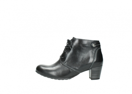 wolky ankle boots 03751 ball 20000 black leather_1
