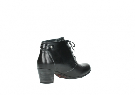 wolky ankle boots 03751 ball 20000 black leather_10