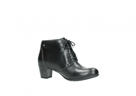 wolky ankle boots 03751 ball 20000 black leather_15