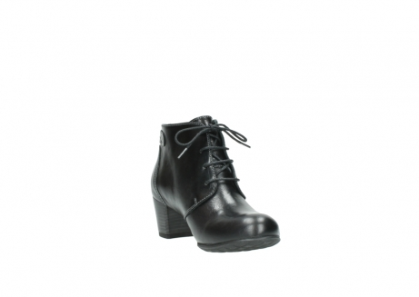 wolky ankle boots 03751 ball 20000 black leather_17