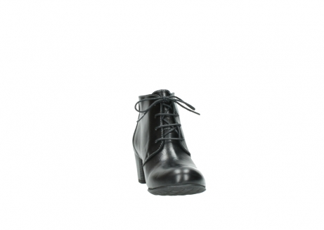 wolky ankle boots 03751 ball 20000 black leather_18