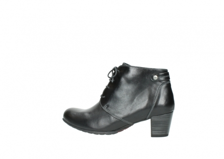 wolky ankle boots 03751 ball 20000 black leather_2