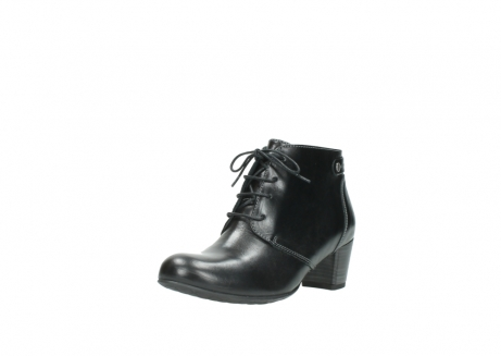 wolky ankle boots 03751 ball 20000 black leather_22