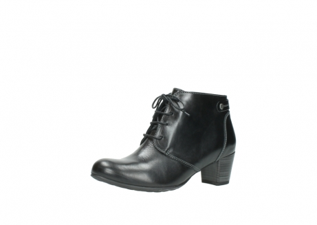 wolky ankle boots 03751 ball 20000 black leather_23