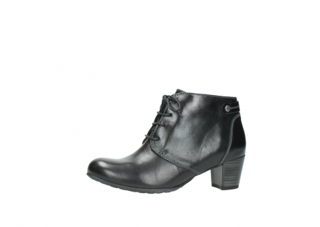 wolky ankle boots 03751 ball 20000 black leather_24