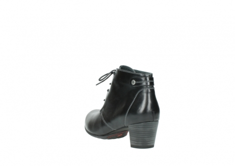 wolky ankle boots 03751 ball 20000 black leather_5