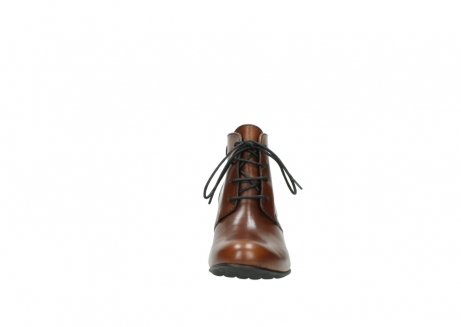 wolky ankle boots 03751 ball 20430 cognac leather_19