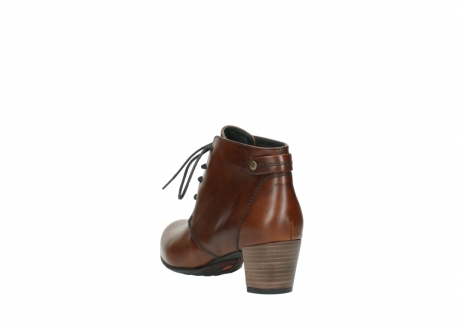 wolky ankle boots 03751 ball 20430 cognac leather_5