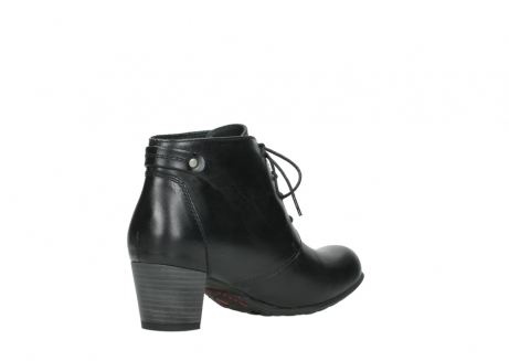 wolky ankle boots 03751 ball 30000 black leather_10