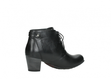 wolky ankle boots 03751 ball 30000 black leather_11