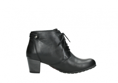wolky ankle boots 03751 ball 30000 black leather_13