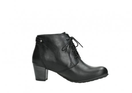 wolky ankle boots 03751 ball 30000 black leather_14
