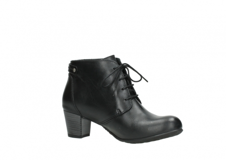 wolky ankle boots 03751 ball 30000 black leather_15