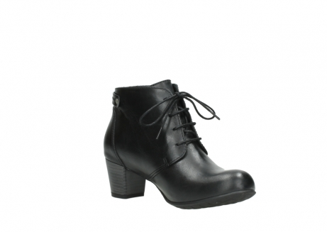 wolky ankle boots 03751 ball 30000 black leather_16