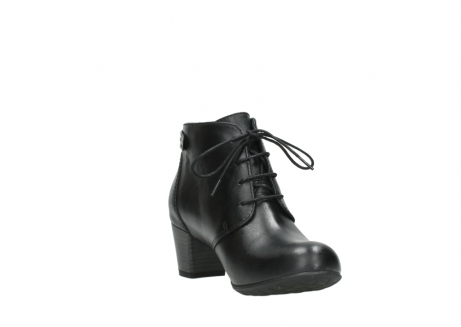 wolky ankle boots 03751 ball 30000 black leather_17