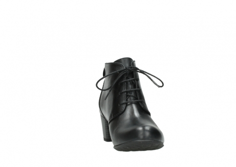 wolky ankle boots 03751 ball 30000 black leather_18