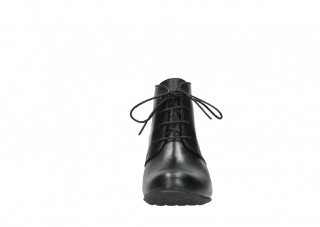 wolky ankle boots 03751 ball 30000 black leather_19