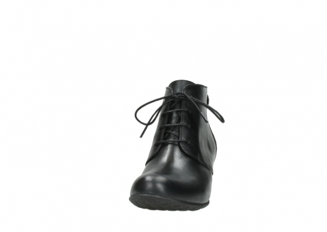 wolky ankle boots 03751 ball 30000 black leather_20