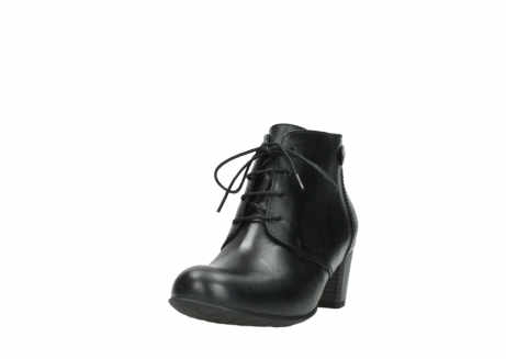 wolky ankle boots 03751 ball 30000 black leather_21
