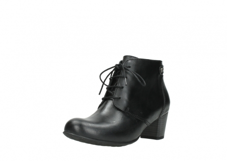 wolky ankle boots 03751 ball 30000 black leather_22