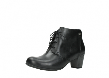 wolky ankle boots 03751 ball 30000 black leather_23