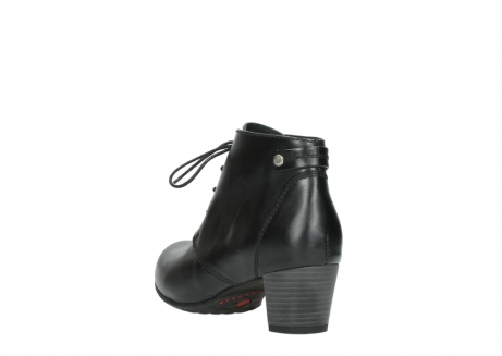 wolky ankle boots 03751 ball 30000 black leather_5