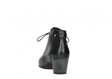 wolky ankle boots 03751 ball 30000 black leather_6