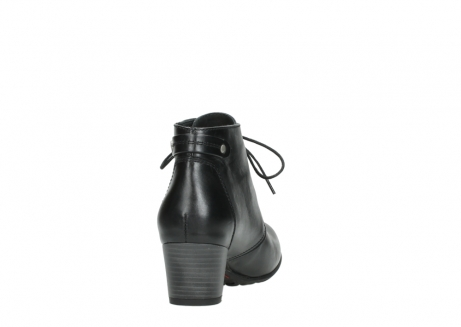 wolky ankle boots 03751 ball 30000 black leather_8
