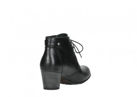 wolky ankle boots 03751 ball 30000 black leather_9