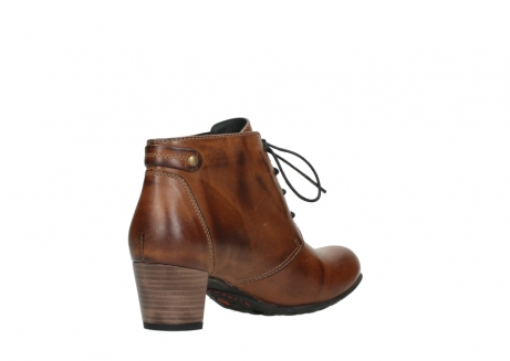 wolky ankle boots 03751 ball 30430 cognac leather_10