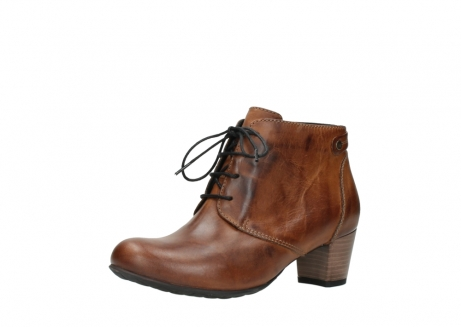 wolky ankle boots 03751 ball 30430 cognac leather_23