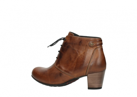 wolky ankle boots 03751 ball 30430 cognac leather_3