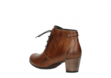 wolky ankle boots 03751 ball 30430 cognac leather_4