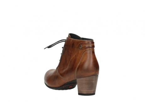 wolky ankle boots 03751 ball 30430 cognac leather_5