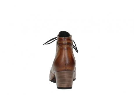wolky ankle boots 03751 ball 30430 cognac leather_7