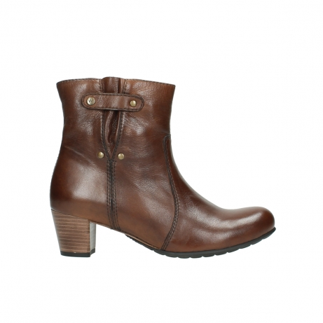 wolky ankle boots 03752 mambo 20430 cognac leather