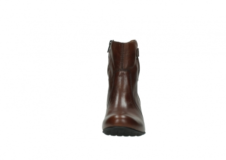 wolky ankle boots 03752 mambo 20430 cognac leather_19