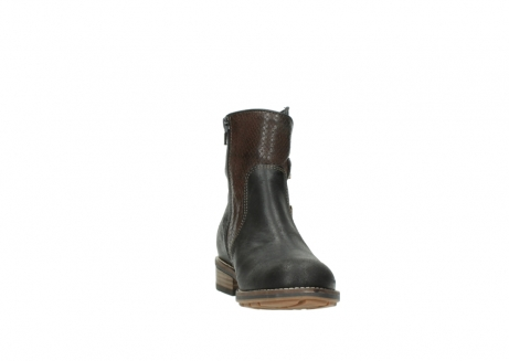wolky ankle boots 04439 emerald 50300 brown oiled leather_18