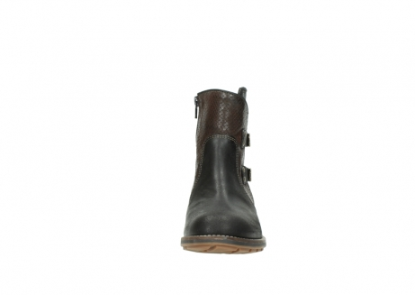 wolky ankle boots 04439 emerald 50300 brown oiled leather_19