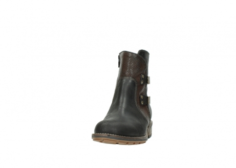wolky ankle boots 04439 emerald 50300 brown oiled leather_20